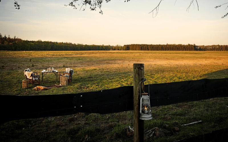 De Land Rover Safari kan je uitbreiden met een heisessie in de natuur