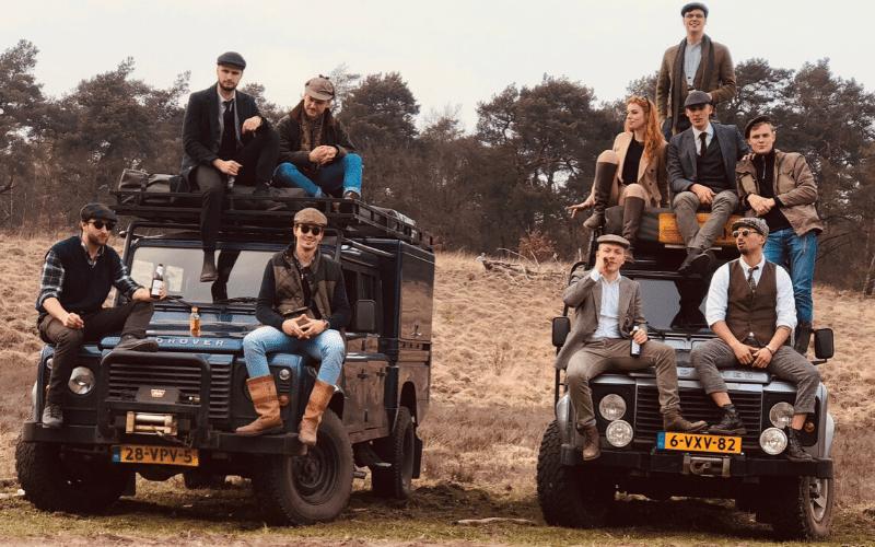 Een sfeerplaatje van onze Land Rover Safari